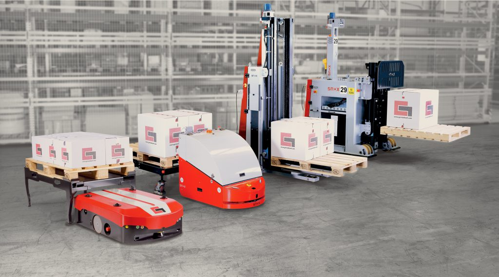 AGV - Transportery autonomiczne